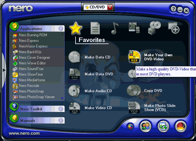 Скачать Nero 7 для Windows 7 бесплатно без регистрации.
